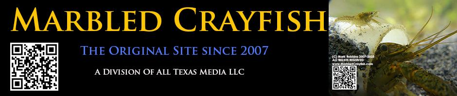 Marbled Crayfish Original Website Since 2007. True Clones! Logo